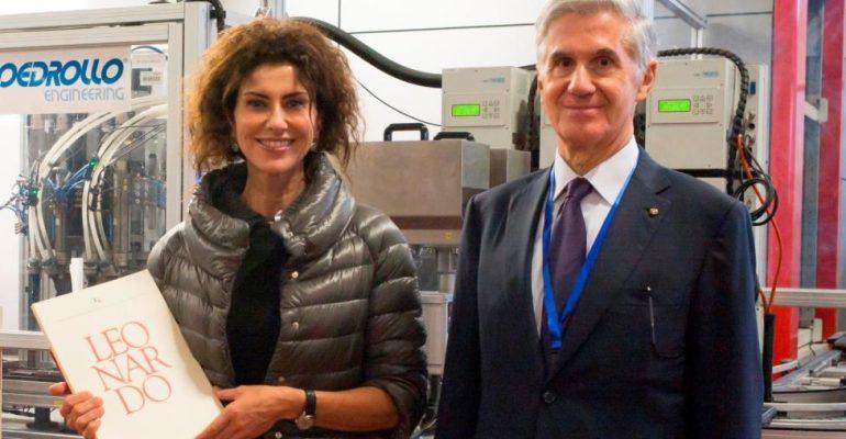 Luisa Todini e Silvano Pedrollo Incontro Territorio Veneto