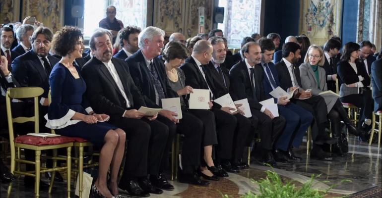 La Consegna dei Premi Leonardo 2016 in Quirinale